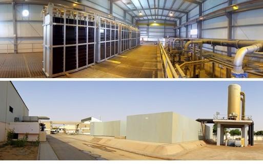 Ceramic flat sheet membrane - CERAFILTEC - Buraydah Main WTP 1 Qassim