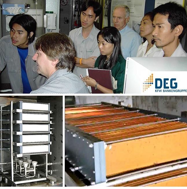 Ceramic flat sheet membrane - CERAFILTEC - Thailand DEG 2004