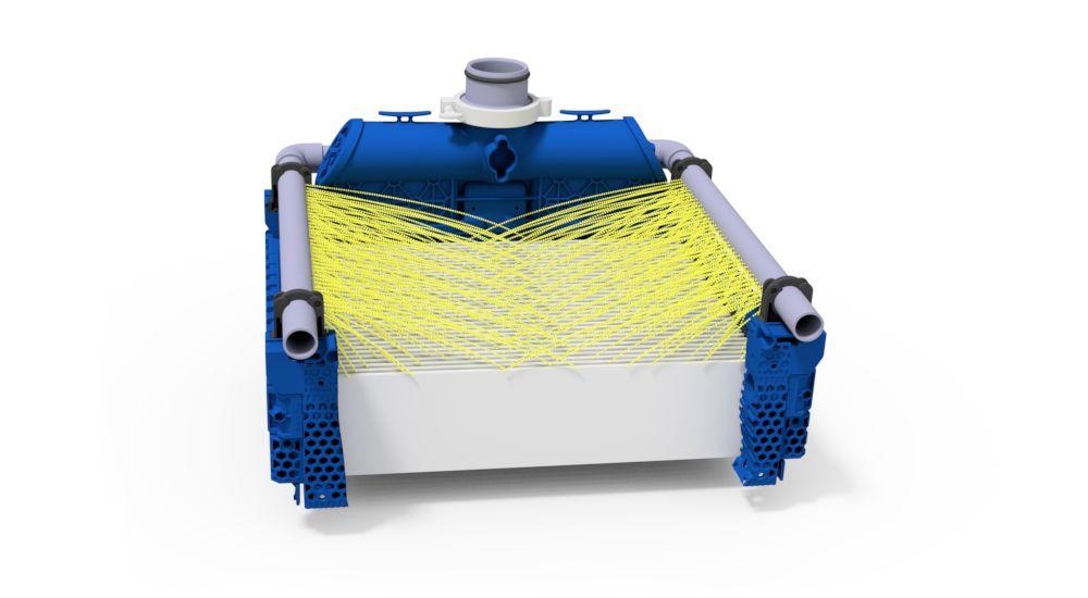 Ceramic flat sheet membrane - CERAFILTEC - illustration CapClean