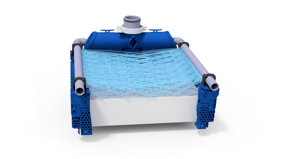 Ceramic flat sheet membrane - CERAFILTEC - illustration sprinkler