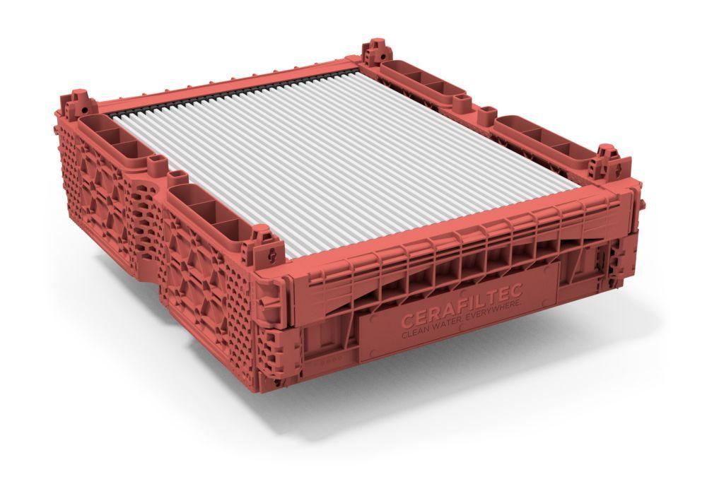 Ceramic flat sheet membrane - CERAFILTEC - Module 6.0 H hot water