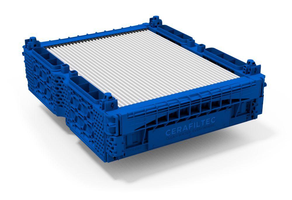 Ceramic flat sheet membrane - CERAFILTEC - Module 6.0 S
