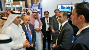 VISIT OF 2 MINISTERS AT SAUDI WATER FORUM IN RIYADH