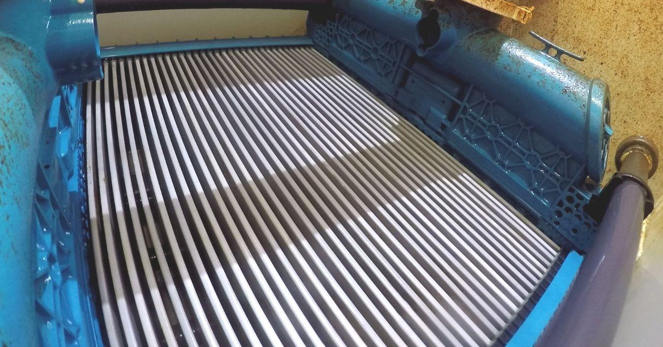 Ceramic flat sheet membrane - CERAFILTEC - module after backwash