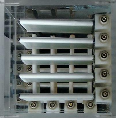 Ceramic flat sheet membrane - CERAFILTEC - lab module 2002