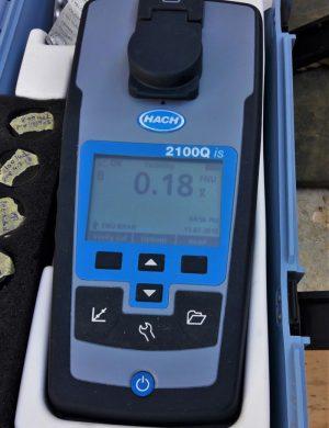 Ceramic flat sheet membrane - CERAFILTEC - Reference Jordan filtered water turbidity