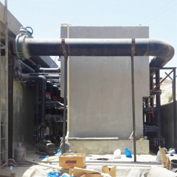 Ceramic flat sheet membrane - CERAFILTEC - Reference Jordan construction