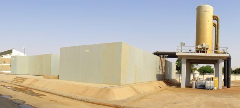 Ceramic flat sheet membrane - CERAFILTEC - Saudi Arabia Buraydah Main WTP 1