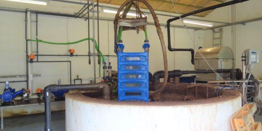 Ceramic flat sheet membrane - CERAFILTEC - SiC Cembrane test St. Wendel