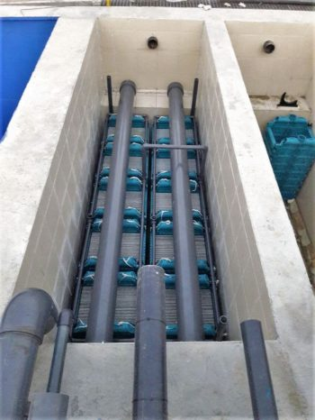 Ceramic flat sheet membrane - CERAFILTEC - train installation 10