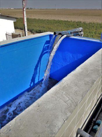 Ceramic flat sheet membrane - CERAFILTEC - plant inlet flow