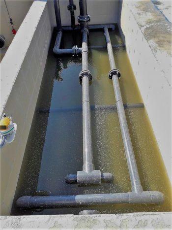 Ceramic flat sheet membrane - CERAFILTEC - inlet flow in train