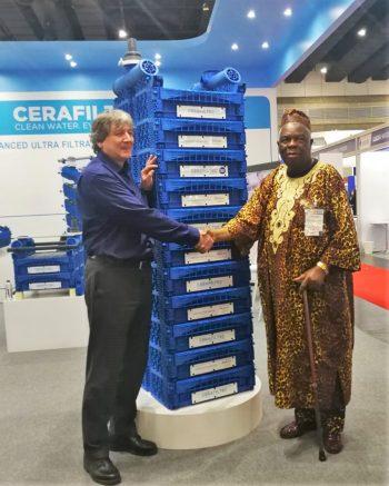 Ceramic flat sheet membrane - CERAFILTEC - Thai Water Expo 2019